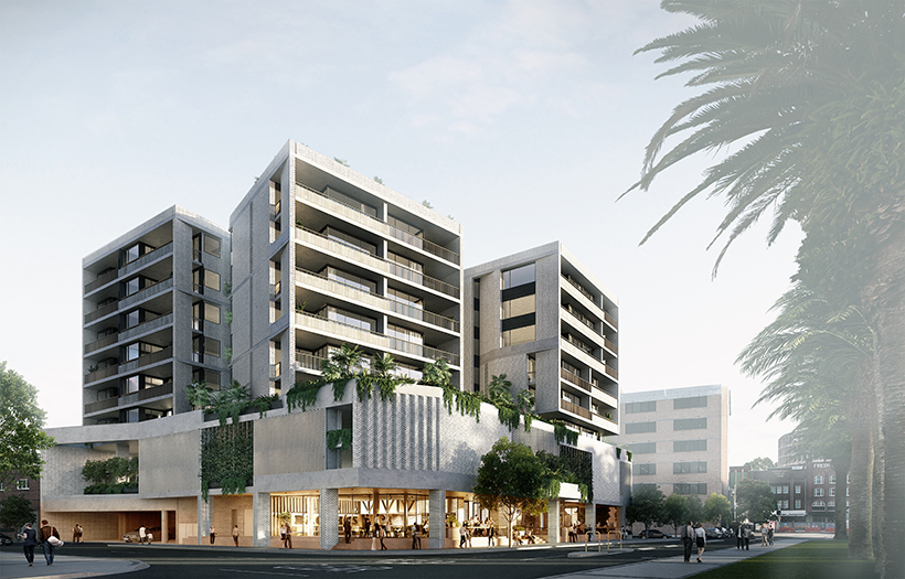 DA lodged for Merewether Mixed Use in Newcastle