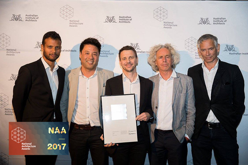 Double Win at the 2017 National Architecture Awards!
