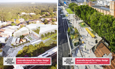 Double Win at the 2016 Australian Urban Design Awards